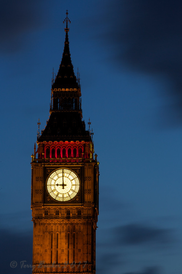 Tower of Big Ben, London