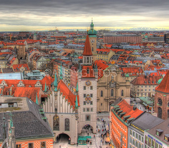 Rooftops of Munich