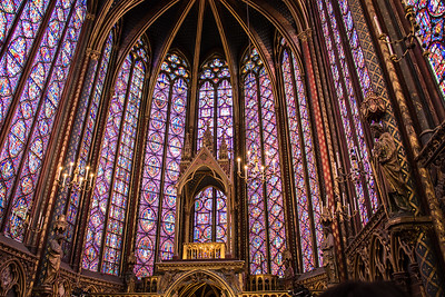 Paris, Saint Chapelle Church