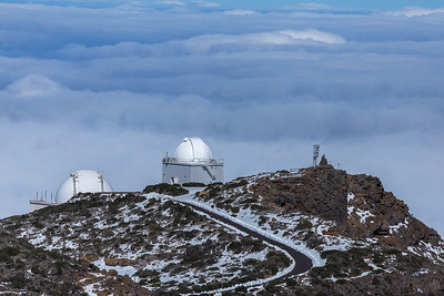 Observatories, Caldera de Taburiente, La Palma