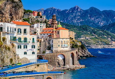 Atrani - Along the Amalfi Coast