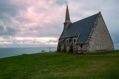 Etretat & Chapelle Notre-Dame de la Garde