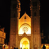 Night View, Cathédrale Saint-Vincent Chalon-sur-Saone, France.