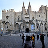 Palace of the Popes. Avignon, France.