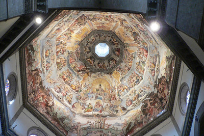 Duomo's dome ceiling 1
