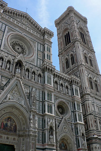 Duomo's front