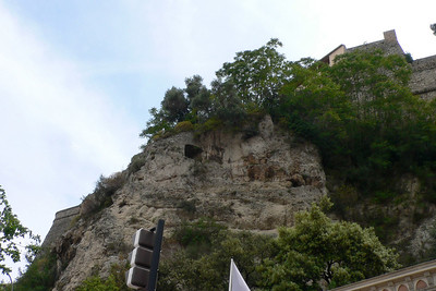 The Rock with palace above