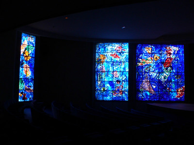 Chagall stain glass