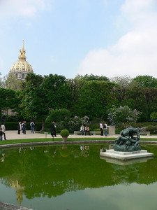 Rodin Pond and Dome