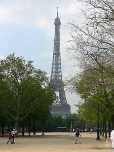 Eifel Tower from park