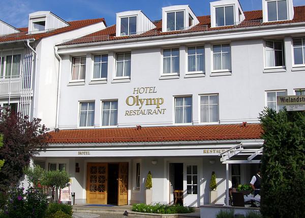 Our final hotel in Munich (Munchen), Germany.