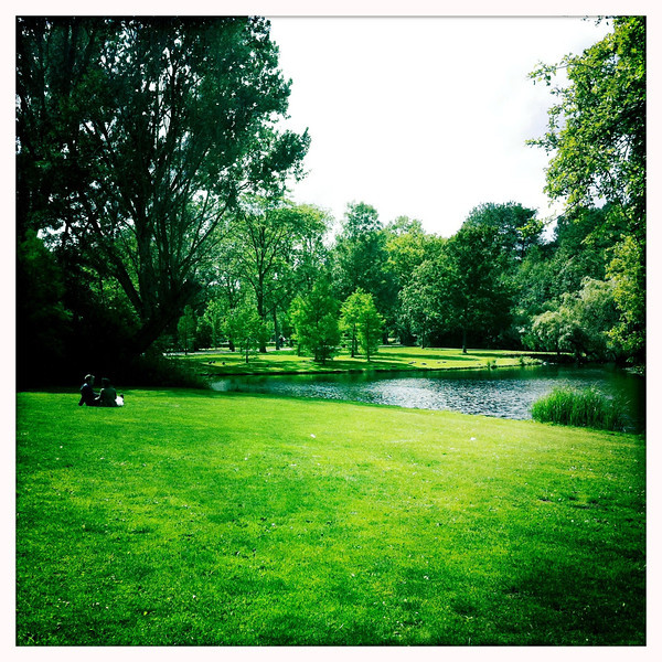 Vondelpark, Amsterdam, June 18, 2011.