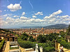View of Florence from Chiesa di San Miniato al Monte, Florence, June 9, 2011.