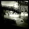 Three bridges area, Venice, June 10, 2011.