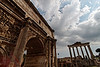 Arch of Septimius Severus, June 3, 2011.<br /> <br /> Rome_MC_06032011_018