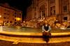 Fontana di Trevi at night, June 5, 2011.<br /> <br /> Rome_MC_06052011_013
