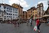 Piazza della Rotonda, in front of the Pantheon, June 3, 2011.<br /> <br /> Rome_MC_06032011_010