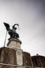 Statue of Archangel Michael, Castel Sant'Angelo, June 5, 2011.<br /> <br /> Rome_MC_06052011_012