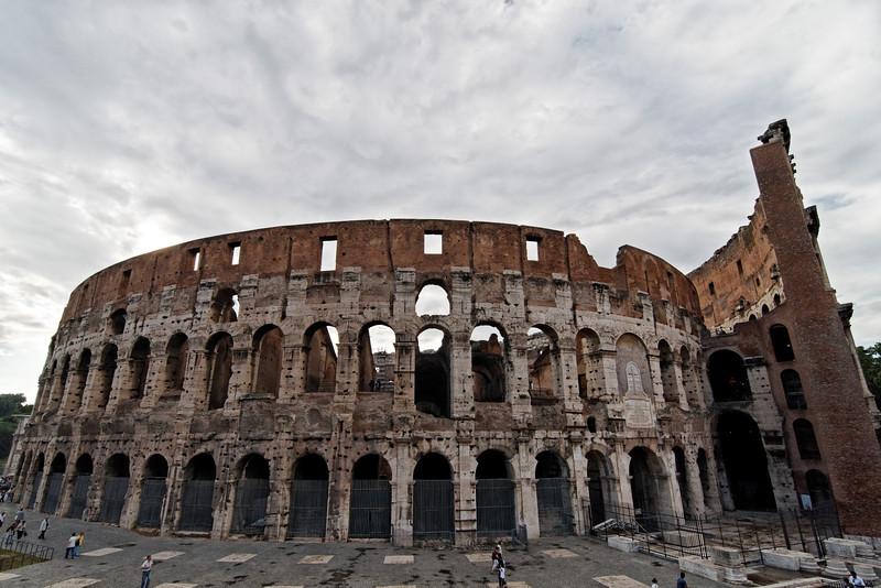 The Colosseum, June 2, 2011.<br /> <br /> Rome_MC_06022011_001