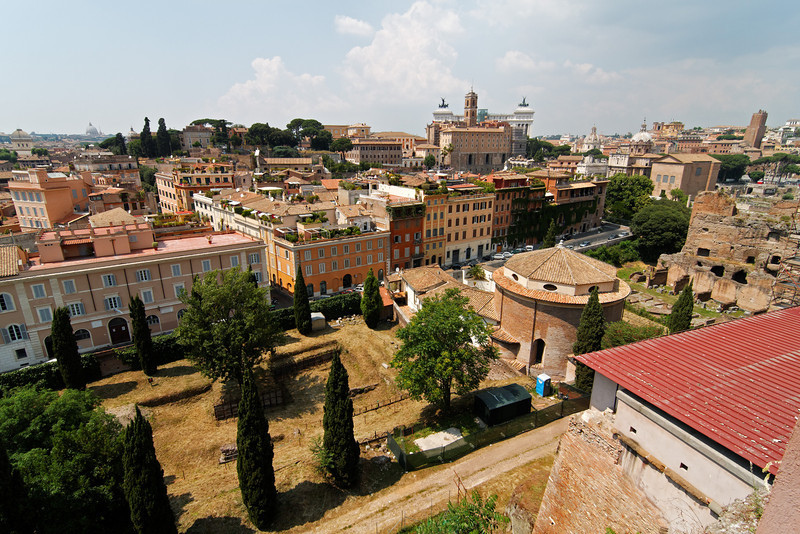 View from the Palatine Hill, June 4, 2011.<br /> <br /> Rome_MC_06042011_015