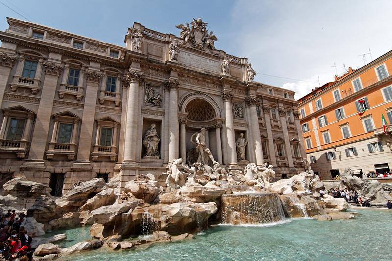 Fontana di Trevi, June 3, 2011.<br /> <br /> Rome_MC_06032011_016