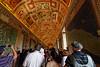 Vatican museum, gallery of maps, June 6, 2011.<br /> <br /> Rome_MC_06062011_002