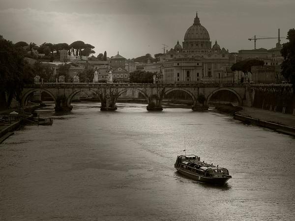 Evening, Rome