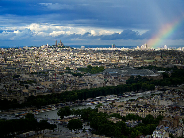 Rain over Paris