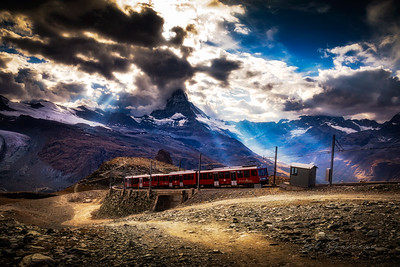 Gornergrat Bahn & the Matterhorn