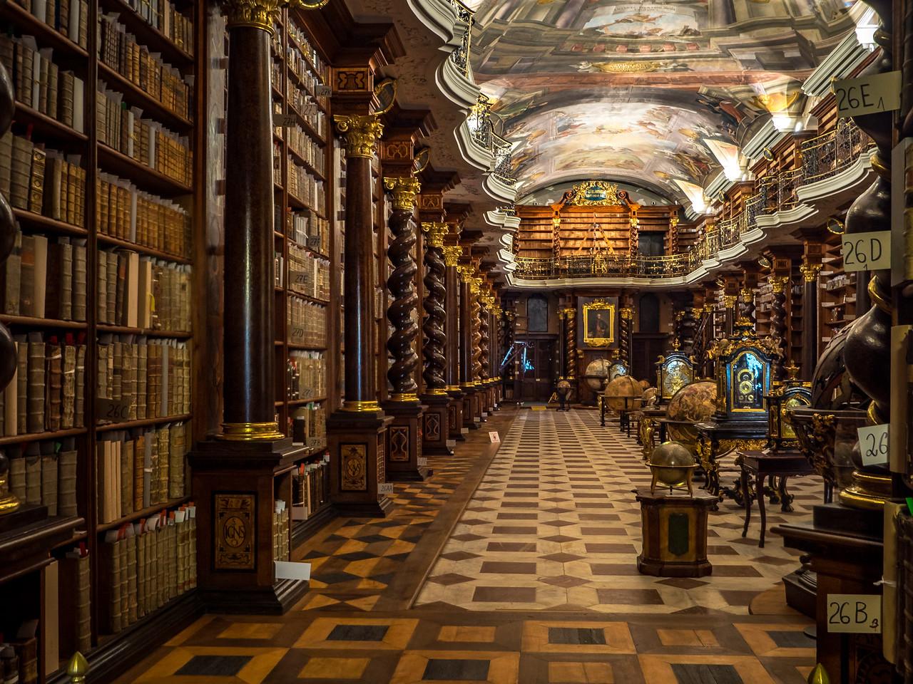 Klementium Library, Prague (Praha), Czech Republic