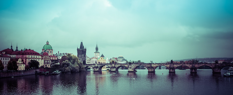 Panorama - Prague (Praha), Czech Republic  III