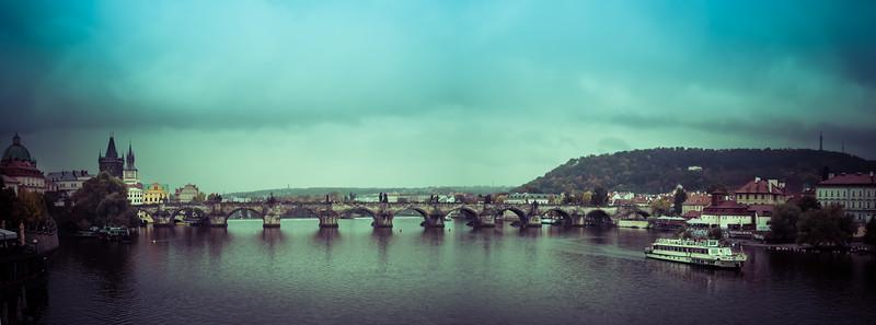 Panorama - Prague (Praha), Czech Republic  II