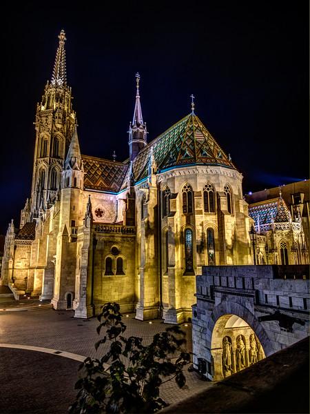 Matthias (Matyas) Church, Budapest, Hungary