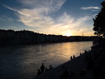 Basel at day's end