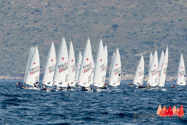 European Laser Senior Championships , Split, 2014