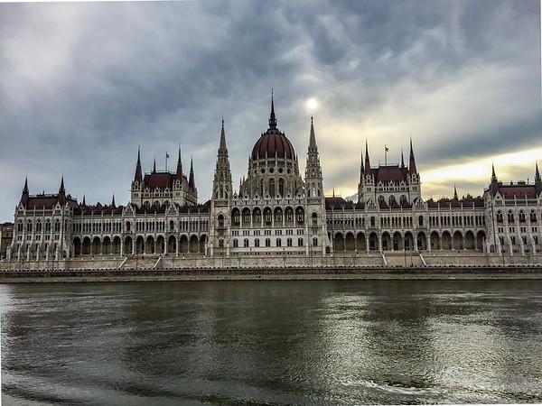Hungarian Parliament, Budapést