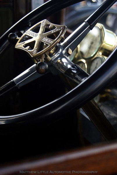 Original Condition 1910 Rolls Royce Silver Ghost Double Pullman Limousine by Fuller<br /> <br /> Interior detail