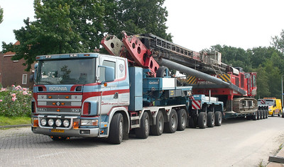Heavy haulage collection