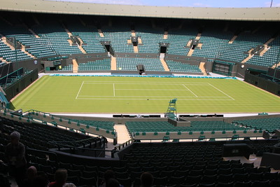 Court One, Wimbledon, England .
