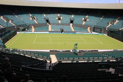 Court One, Wimbledon, England .
