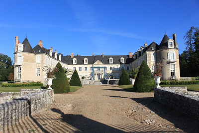 Chateau d'Avaray, in the Loire Valley