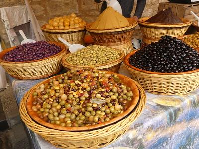 Weekly market in St. Cyprien, Dordogne