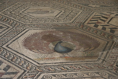 Mosaics at Vaison-la-Romaine, near Orange