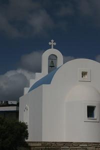 Church on the island of Antiparos