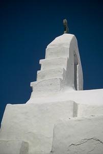 Church steeple, Greek islands