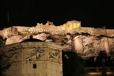 The Acropolis at night, Athens