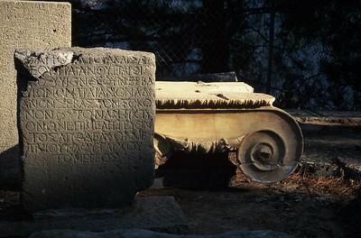 Ruins, Delphi, Greece