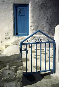 Gate to Windmill, Mykonos