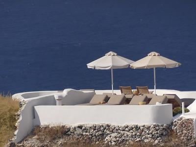 Santorini lounges