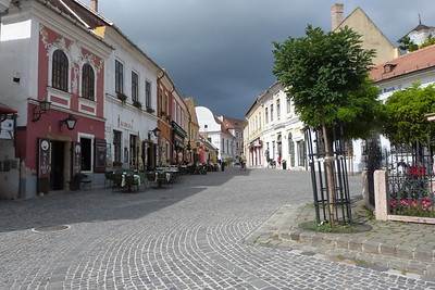 Szentendre, a short boat ride down the Danube from Budapest, Hungary